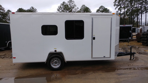 6x14 Cargo Trailer Camper Conversion - On a Budget - New Mobile