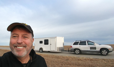 6×14 Cargo Trailer Camper Conversion – On a Budget – New Mobile Office – Rolling Thunder