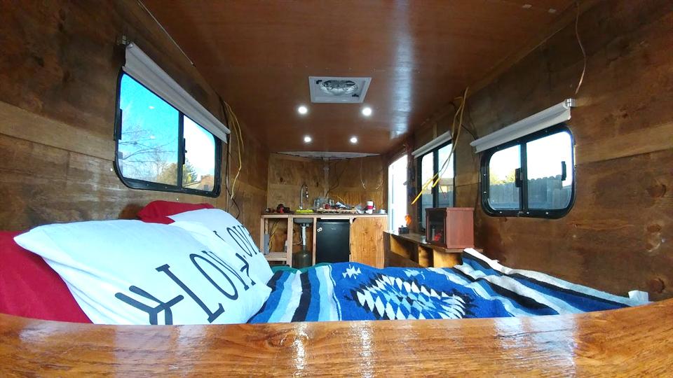 Cargo Trailer Conversion mini house
