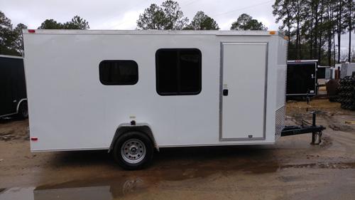 Design Ideas For Cargo Trailer Camper RV Conversion