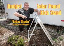 Portable Solar Panel Kick Stand