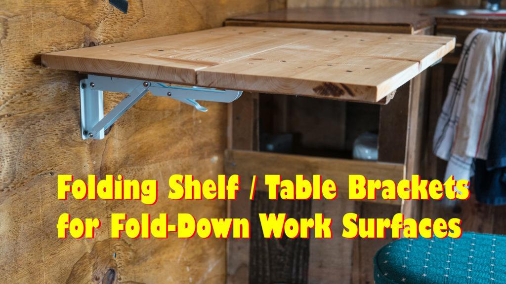 Folding Shelf Table Brackets Striking Photography
