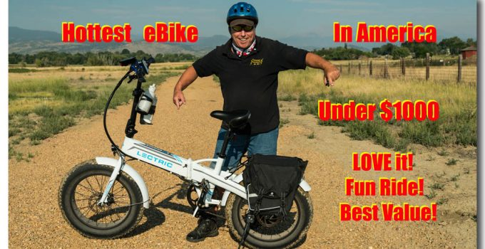 Hottest ebike in America Lectric XP