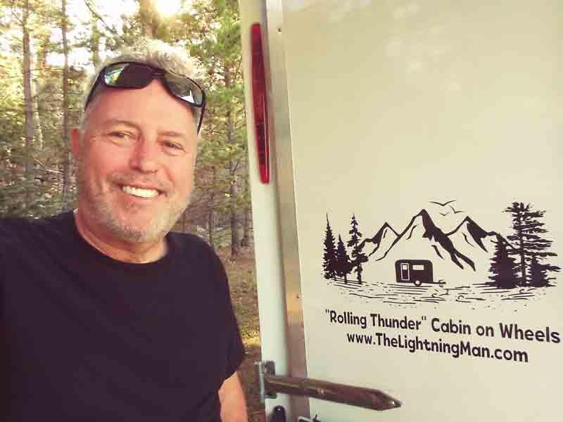Cargo Trailer Camper Conversion  Rolling Thunder
