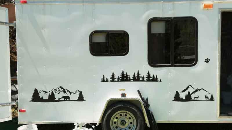 camper decals graphics