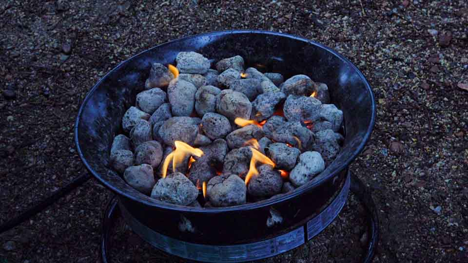 camping fire pit - Colorado Camping at Eagle Campground with Cargo Trailer Camper